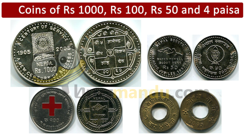 History of Nepalese Coins! Believe it or Not ? 1000Rs Coin did existed!