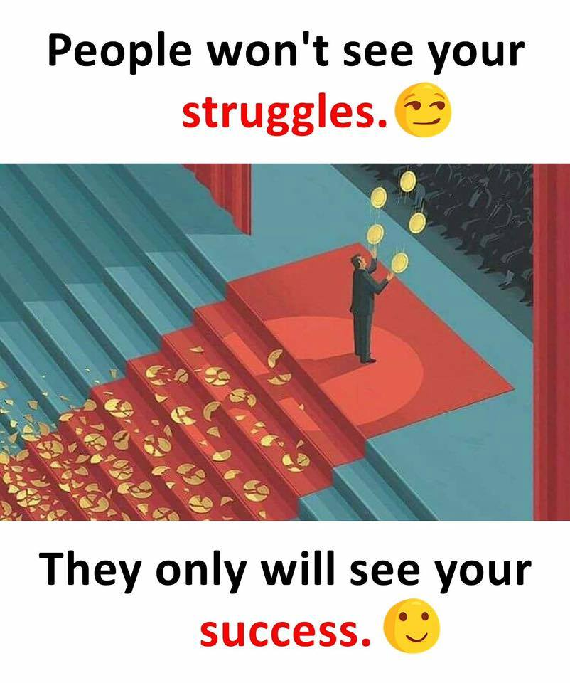 People won't see your..